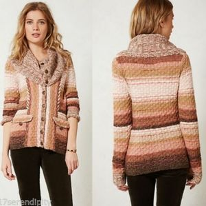 Anthropologie Sleeping on Snow Ouray Sweater M